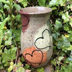 Heart design vase