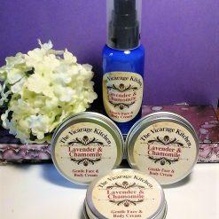 Gentle Lavender & Chamomile Organic Face & Body Cream - Sample Size (CPSR)