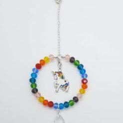 Unicorn Rainbow Sun Catcher
