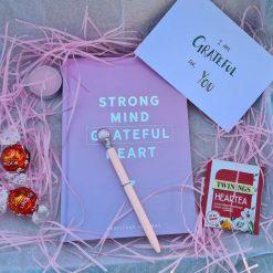 Gratitude Journal Gift Box Thank You Mindfulness Gift Self Care
