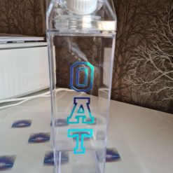 500ml refillable milk carton bottle.