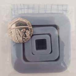 Set of 3 - Mini 3D printed square polymer clay cutters for Jewellery making.