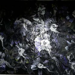 30cm x 40cm Abstract Acrylic Canvas