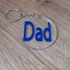 Fathers day keyring