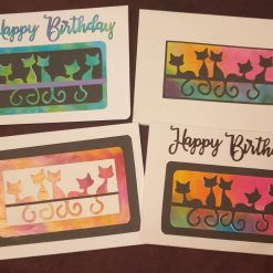 Set of cat cards