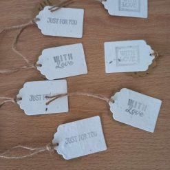 Plantable gift tags (set of 7)