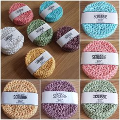 Crochet Face Scrubbies - eco friendly and reusable