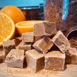 FRESH  HOMEMADE  FUDGE - Vanilla, Salted Caramel, Chocolate Orange