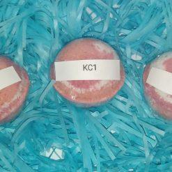 BATH BOMB - 3 MEDIUM - KC1 - GIFT SET