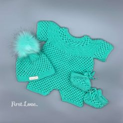 ** SOLD ** Baby Girls Mint Green outfit