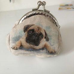 Coin purse Pug