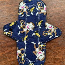 Monkey with bananas cloth Sanitary pad