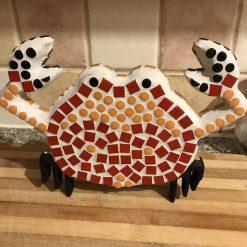 Quirky mosaic crab 🦀