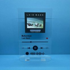 Spotify Barcode Frame - Personalised