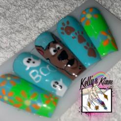 Cartoon Character - Reusable Custom Made Press on Nails