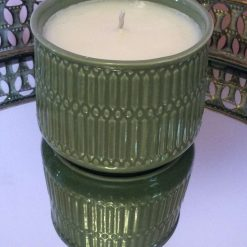 Blackcurrant Scented Candle - 2 wick Patterned Glass Dish