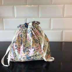 Drawstring bag with handles
