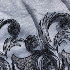 Black & Silver Lace