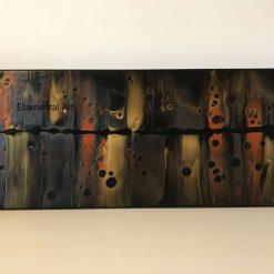 Audio  - Abstract fluid acrylic painting