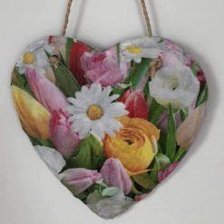 Tulip slate heart