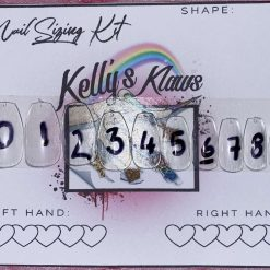 Sizing Kit for Resusable Custom Made Press On Nails