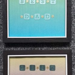 Best Dad Framed Quote