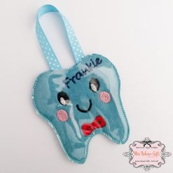 Personalised Tooth Fairy Coin Pouch 3