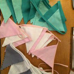 Handmade bunting
