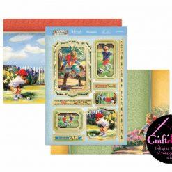 Hunkydory - Childhood Dreams - Fun & Games - Luxury Topper Set
