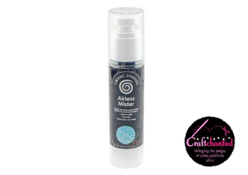 Cosmic Shimmer - Airless Mister - Maya Blue - 50ml