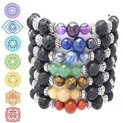 Root Chakra Bracelet | Reiki Gift Ideas | Spiritual Healing Yoga Chakras Bracelets | Birthday Christmas Mothers Mother's Day Valentine Anniversary Easter Jewellery | Charming Gifts