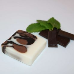 Chocolate Mint Soap Bar all natural handcrafted with love