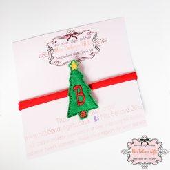 Personalised Christmas Tree Headband
