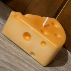 Cheese Wedge Candle