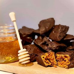 Chocolate Honeycomb - FREE DELIVERY (4 Large Cones)