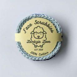 Face scrubbies 100% cotton