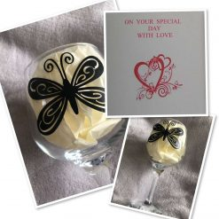 Personalised Gin Glass & Card