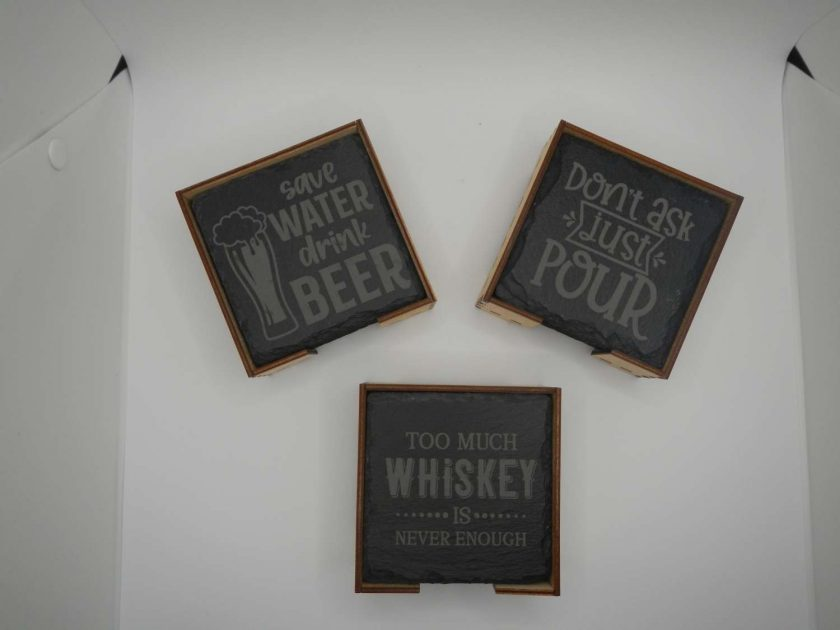 Acrylic or Slate Coasters