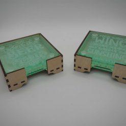 Acrylic or Slate Coasters 7