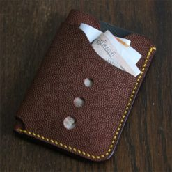 Credit Card Sleeve - Cherry Red