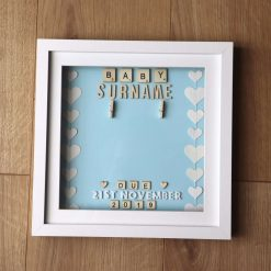 Baby due frame