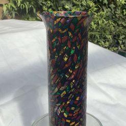 Glass art. Abstract vase