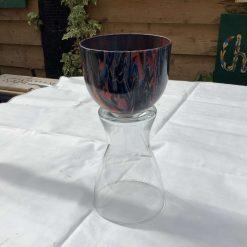 Acrylic pour Decorative Vase