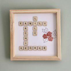 Family name frame