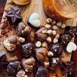 Mixed Box of Homemade Chocolates CONTAINS NUTS