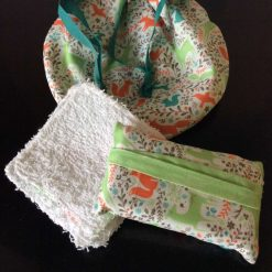 Re-usable wipes gift set