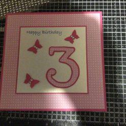 Personalised Handmade Birthday Card