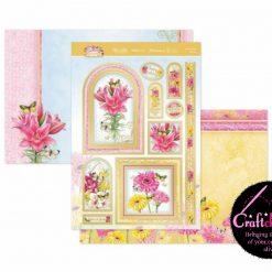 Hunkydory - Forever Florals - Summer Splendour - Flourishing Florals - Luxury Topper Set