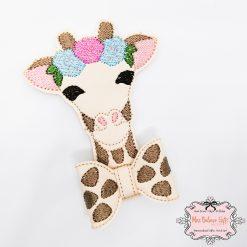Giraffe Hair Bow Clip