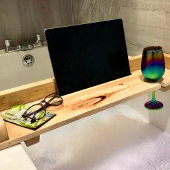 Bath Tray - Reclaimed Wood